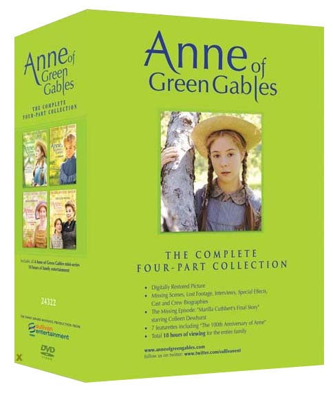 Anne of Green Gables: The Complete Four-Part Collection (DVD)