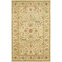 Safavieh Handmade Mahal Ivory Wool Rug (6' x 9')