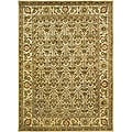 Handmade Treasured Gold Wool Rug (6' x 9')