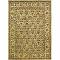 Handmade Treasured Gold Wool Rug (8'3 x 11')