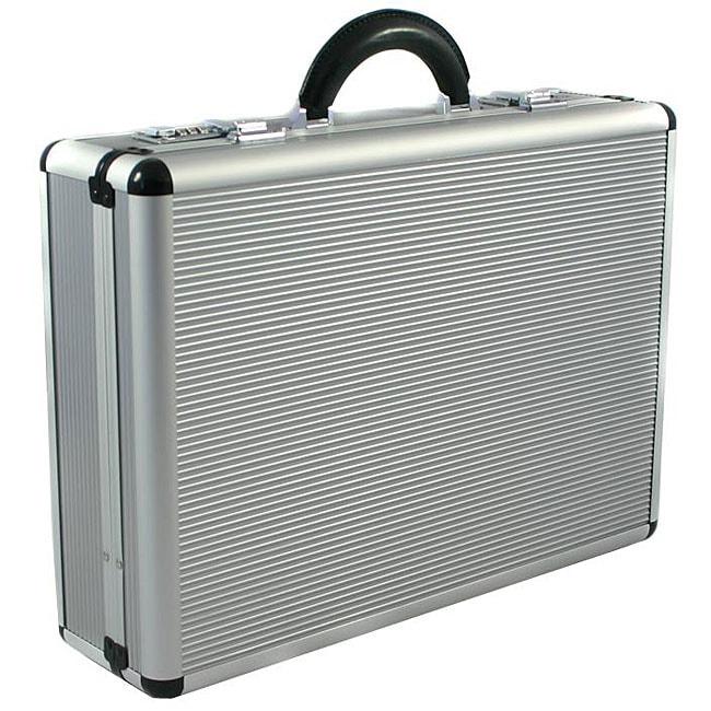 Copa Aluminum Silver 5-inch Attache Case
