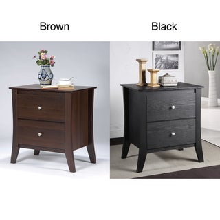 Furniture of America Beatrix 2-drawer nightstand