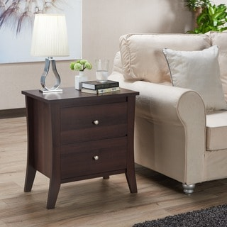 Furniture of America Beatrix Modern 2-drawer Nightstand