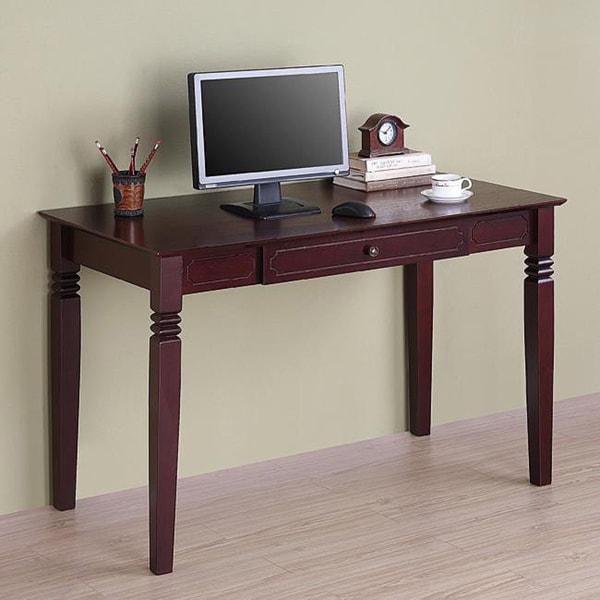 Brown Wood Computer Desk