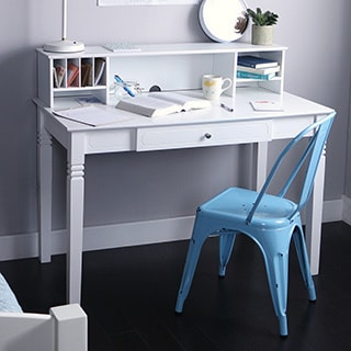 White Classics Writing Desk Overstock Shopping Great
