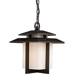 Kanso 1-light Hazelnut Bronze Outdoor Pendant Light