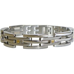 Stainess Steel Screwhead 9-inch Bracelet (12.7 mm)