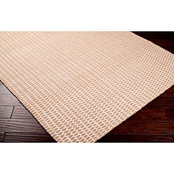 Hand-woven Beige/Brown Natural Fiber Jute Rug (8' x 10'6)