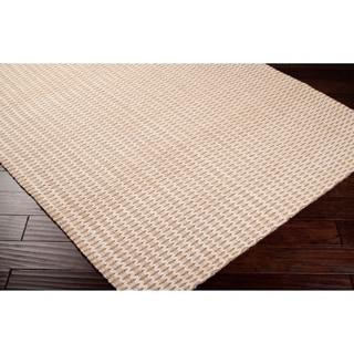 Hand-woven Beige Natural Fiber Jute Rug (8' x 10'6)