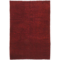 Hand-woven Corning Wool Blend Rug (8' x 10')