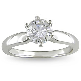 Miadora Signature Collection 14k White Gold 1ct TDW Diamond Solitaire Engagement Ring (H-I, I2-I3)