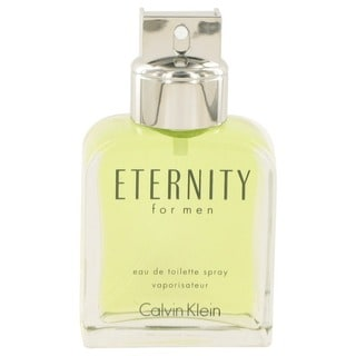 Calvin Klein 'Eternity' Men's 3.4-ounce Eau De Toilette Spray (Tester)