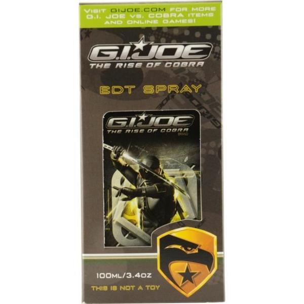 GI Joe 3.4-ounce Eau de Toilette Spray for Men