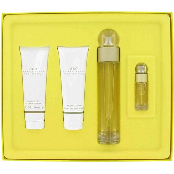 Perry Ellis 360 Women's Four-piece Fragrance Set for Casual Wear