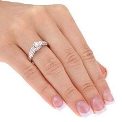 Miadora 14k Gold 1/2ct TDW Diamond Engagement Ring (H-I, I2-I3)
