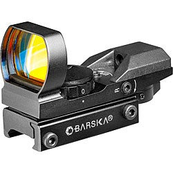 Barska 1x 22x33mm Screen Multi-reticle Electro Sight Rifle Scope
