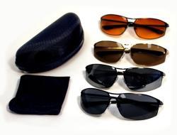 N2 Eyewear Men's 12-021 FIVE Collection Sunglasses