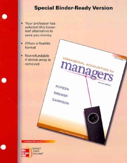 Managerial Accounting for Managers (Other book format)