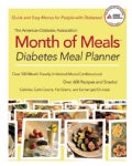 The American Diabetes Assocation Month of Meals: Diabetes Meal Planner (Paperback)