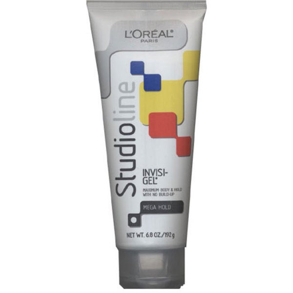 L'Oreal Studio 6.8-ounce Invisi Mega Hold Style Gel (Pack of 2)