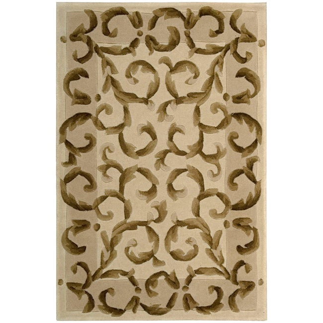 """Nourison Hand-Tufted Versailles Palace Ivory Oriental Rug (3'6 x 5'6"""")"""