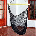 Nylon and Banak Wood 'Caribbean Nights' Hammock (Mexico)