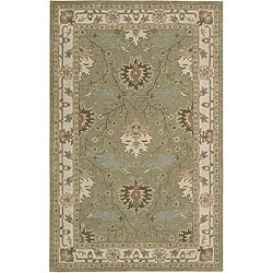 "Nourison Hand-Tufted Caspian Traditional Wool Rug (3'6"" x 5'6"")"
