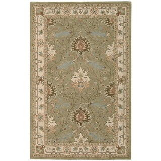 Nourison Hand-tufted Caspian Wool Rug (5' x 8')