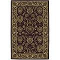 "Nourison Hand-Tufted Caspian Burgundy Wool Area Rug (8' x 10'6"")"