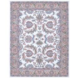 Nourison Hand-tufted Caspian Ivory Wool Rug (5' x 8')
