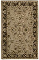Nourison Hand-tufted Caspian Taupe Wool Rug (3'6 x 5'6)