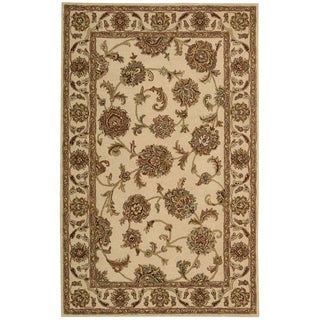 Nourison Hand-tufted Caspian Ivory Wool Rug (8' x 10'6)