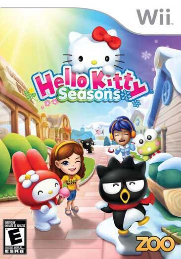 Wii - Hello Kitty Seasons