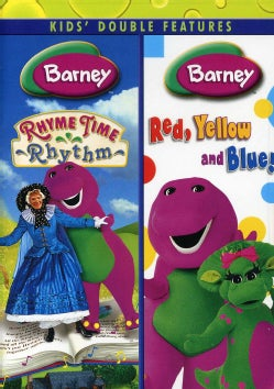 Barney: Rhyme Time Rhythm/Red, Yellow, Blue (DVD)