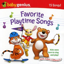 BABY GENIUS - BABY GENIUS FAVORITE PLAYTIME SONGS