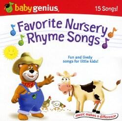 BABY GENIUS - BABY GENIUS FAVORITE NURSERY RHYMES