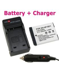 INSTEN Sony NP-BD1 Battery and Charger Set