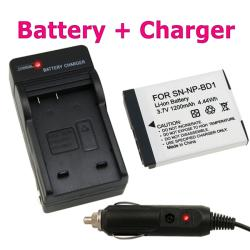Sony NP-BD1 Battery and Charger Set