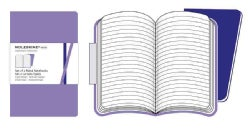 Moleskine Ruled Volant Purple (Notebook / blank book)