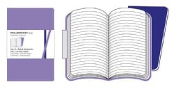 Moleskine Ruled Volant Purple (Notebook / blank book)