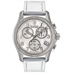 Swiss Army Women's Mother of Pearl Chronograph Watch