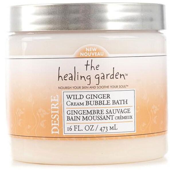 Healing Garden 16-oz Wild Ginger Cream Bubble Bath (Pack of 4)