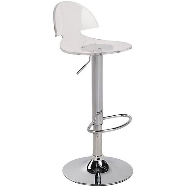 Venti Clear Acrylic Bar Stool 12725338