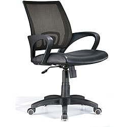 Leatherette Black Office Chair
