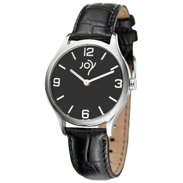 Redondos Women's Joy Collection Black Strap Watch
