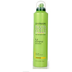 Garnier Fructis 8.25-ounce Full Control Strong Hair Spray (Pack of 4)