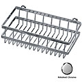 Concinnity 13-inch Polished Chrome Deep Shower/ Bath Rack