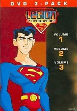 Legion Of Superheroes Volumes 1-3 (DVD)