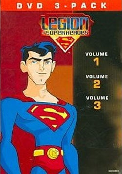 Legion Of Superheroes Volumes 1-3 (DVD)