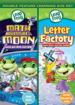 Leapfrog: Math Adventure To The Moon/Letter Factory (DVD)